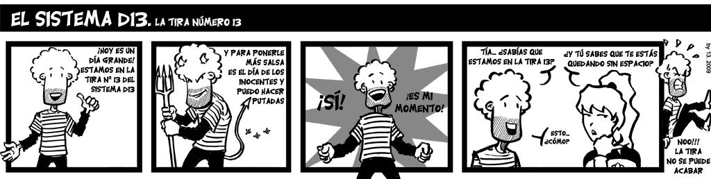 13. La tira número 13