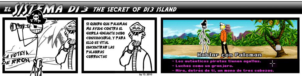 161. The Secret of D13 Island