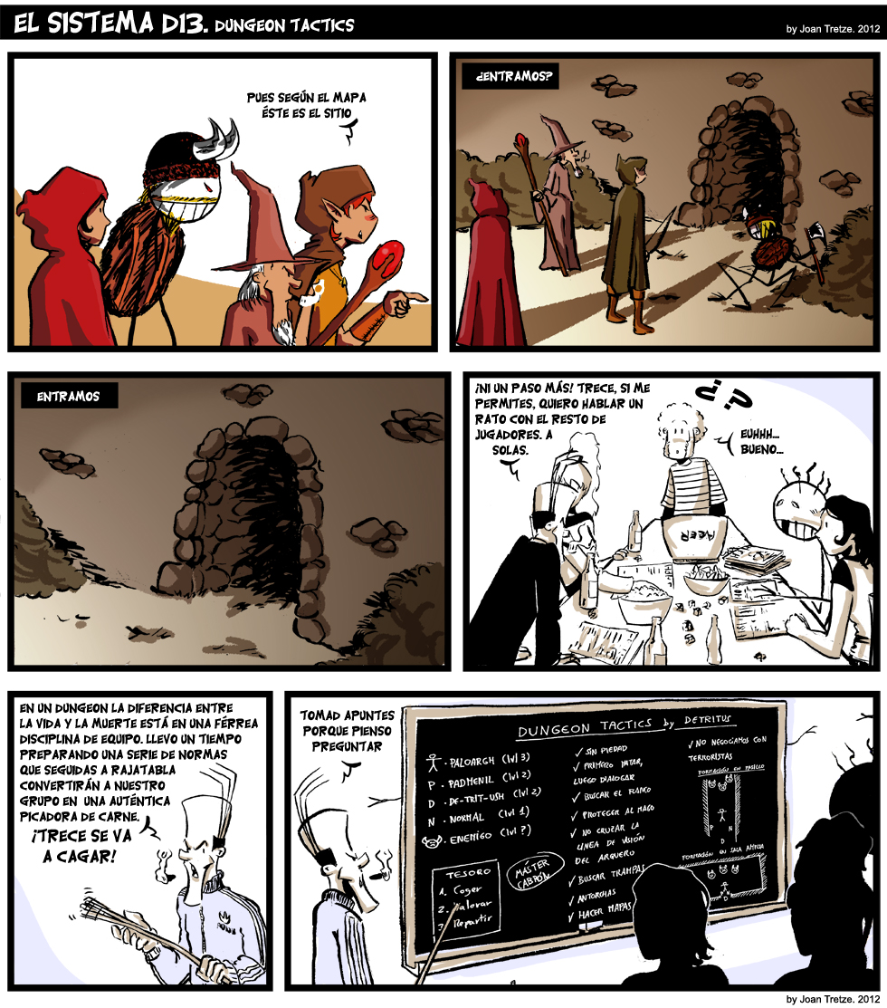 385. Dungeon tactics