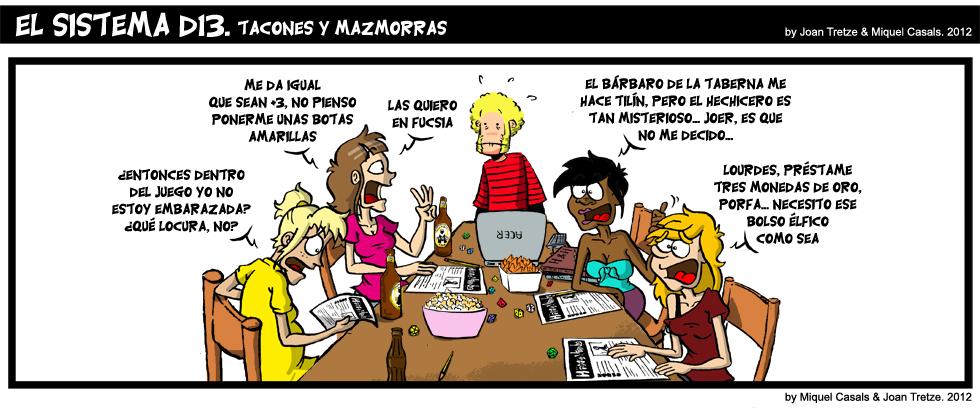 511. Tacones y Mazmorras