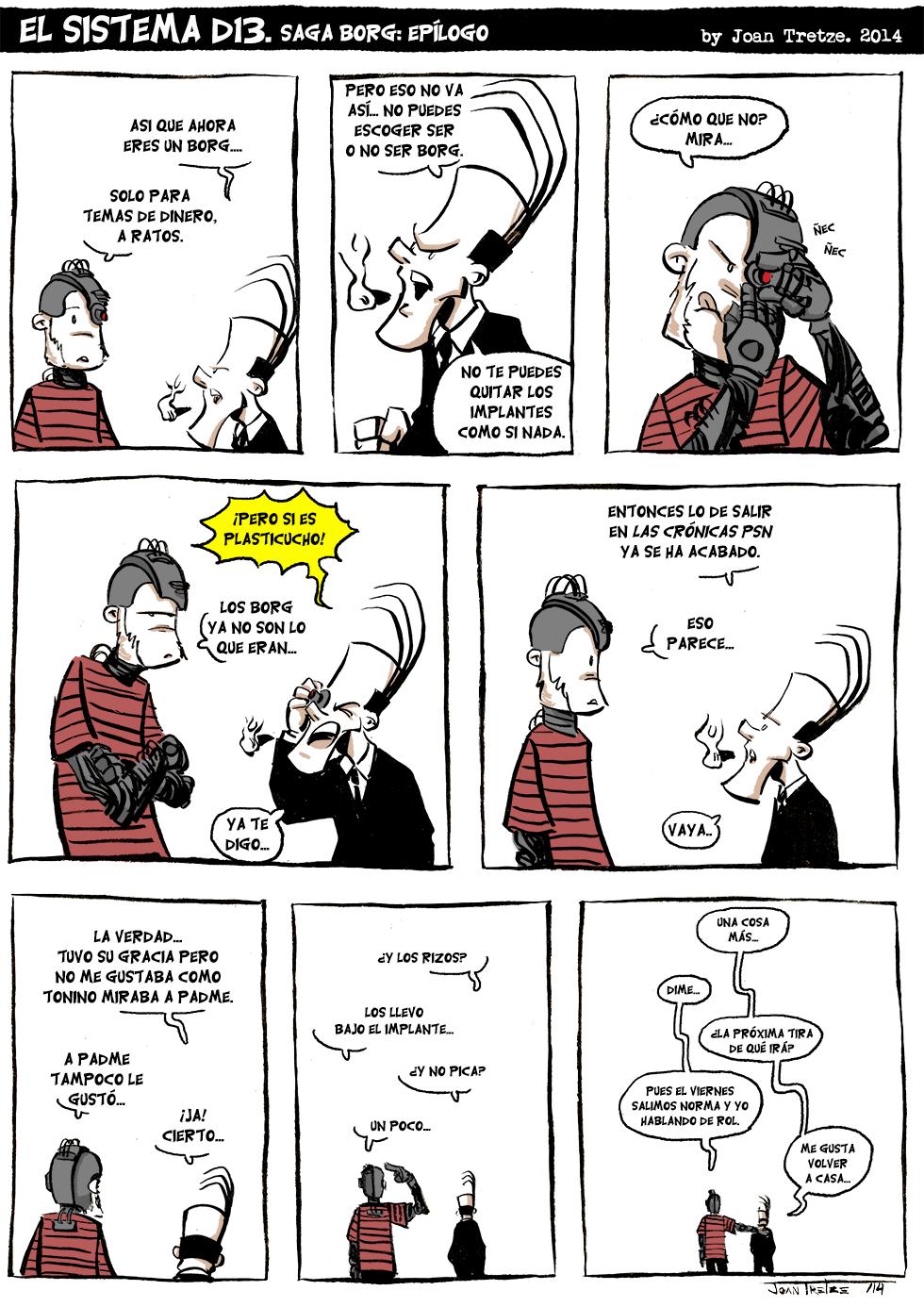 Saga Borg: Epílogo.