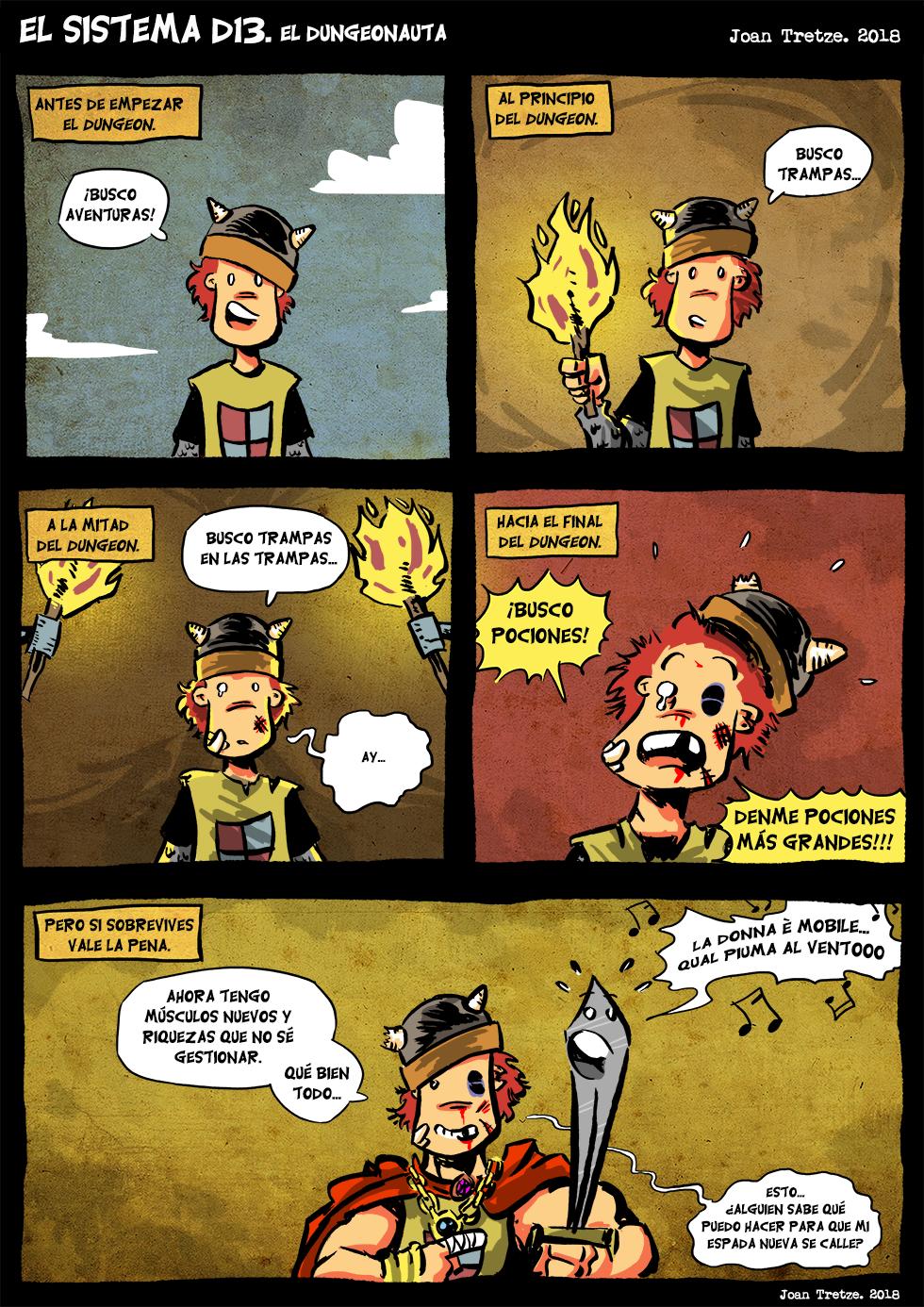 El dungeonauta