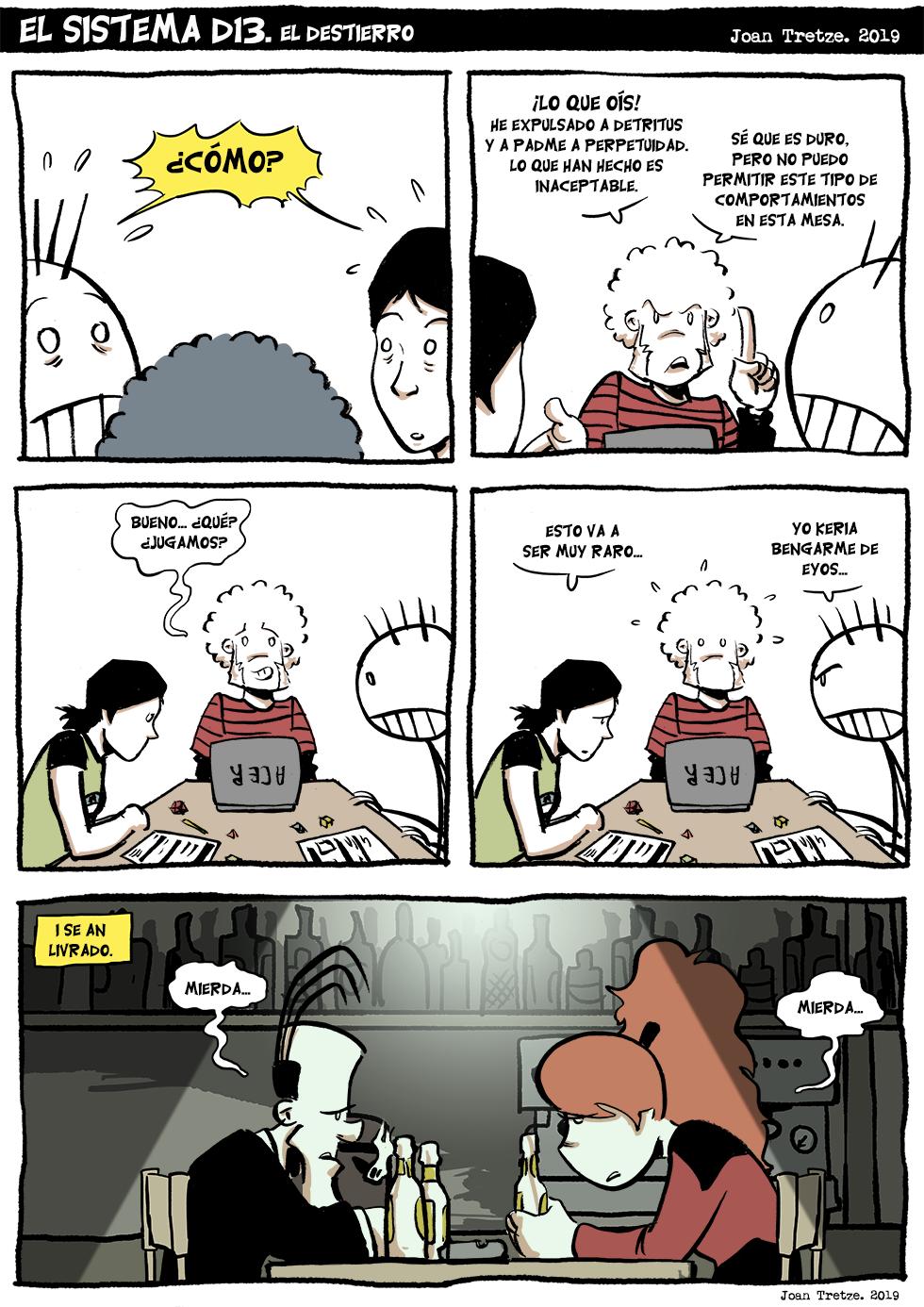 El destierro