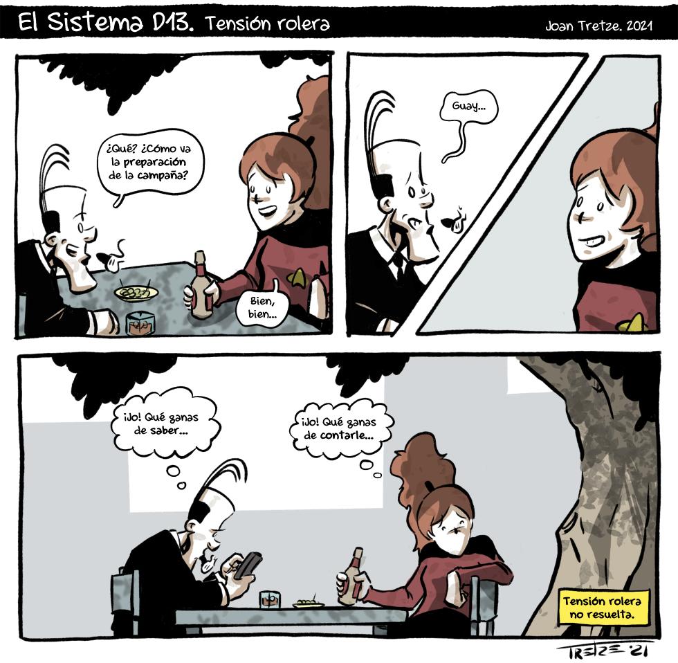 Tensión rolera